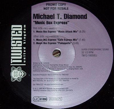 Michael T. Diamond - Music Box Express