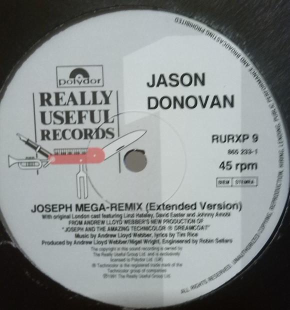 Jason Donovan - Joseph Mega-Remix