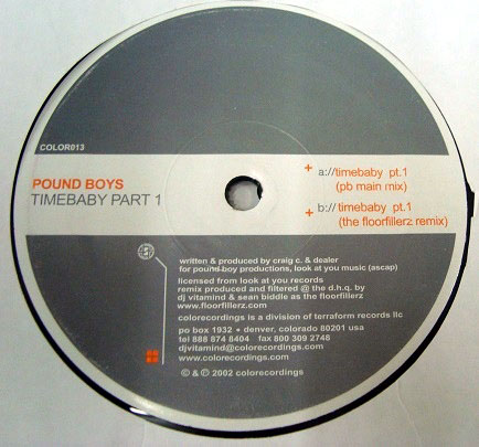 Pound Boys - Timebaby (Part 1)