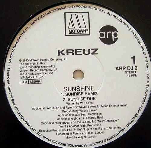 Kreuz - Sunshine