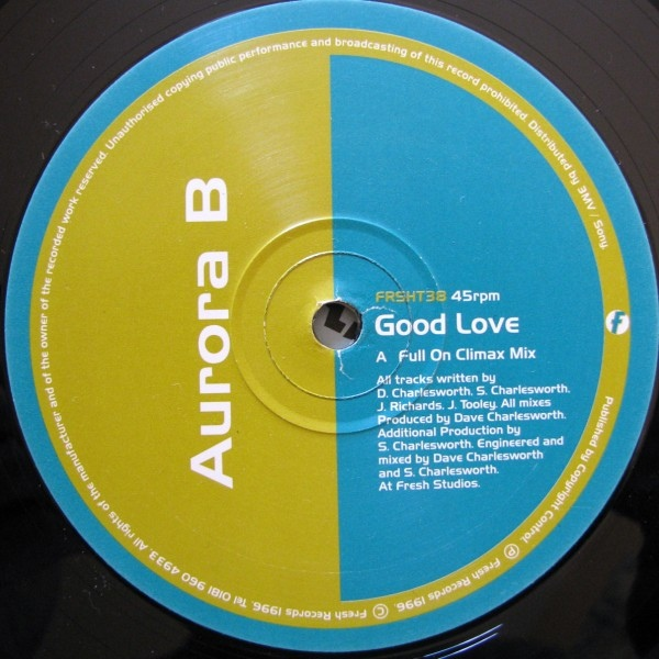 Aurora B - Good Love