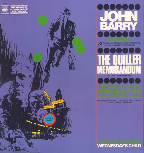 John Barry - The Quiller Memorandum (Original Soundtrack)