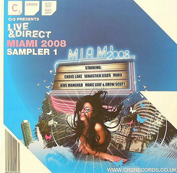 Various - Live & Direct : Miami 2008 (Sampler 1)