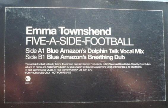 Emma Townshend - Five-A-Side-Football