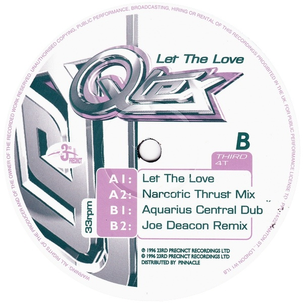 Q-Tex - Let The Love