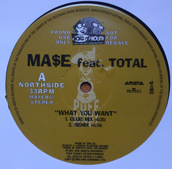 Ma$e Feat. Total - What You Want
