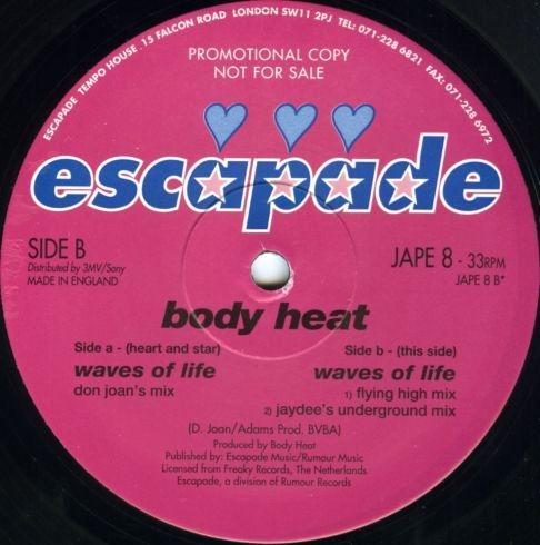 Body Heat - Waves Of Life