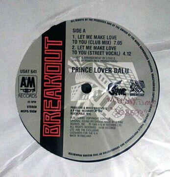 Prince Lover Dalu - Let Me Make Love To You