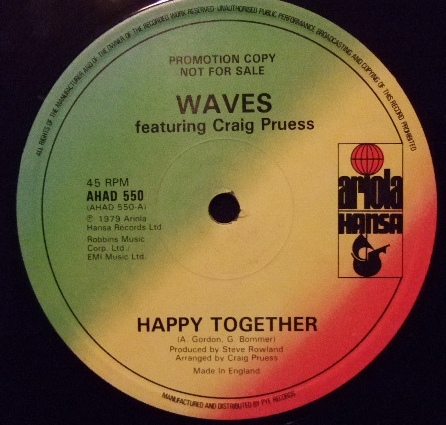 Waves featuring Craig Pruess - Happy Together