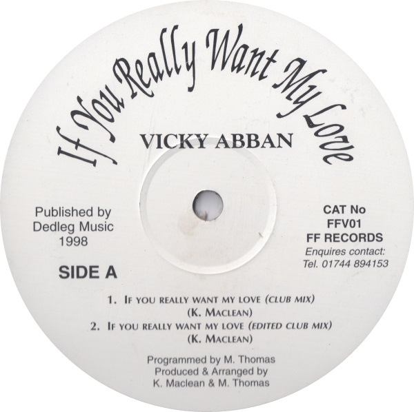 Vicky Abban - If You Really Want My Love