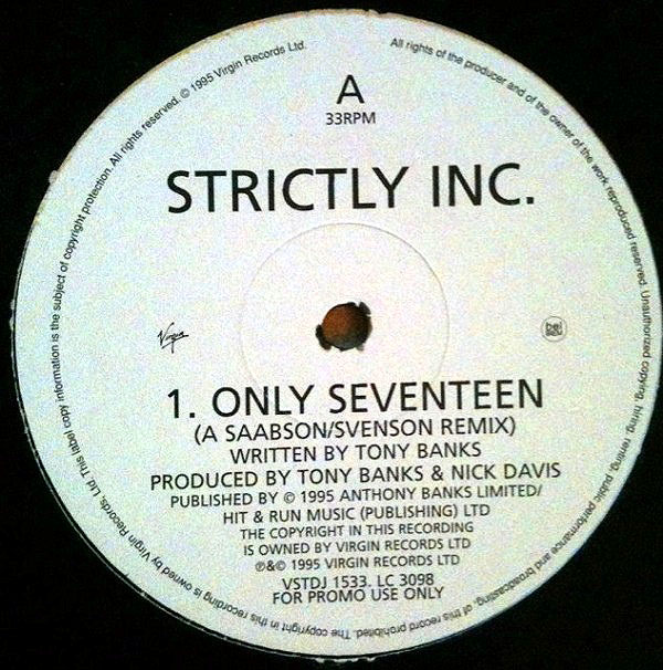 Strictly Inc. - Only Seventeen
