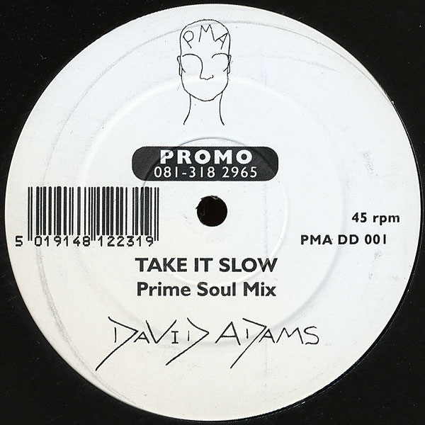 David Adams - Take It Slow