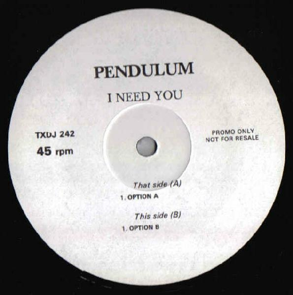 Pendulum Records Vinyl And Cds Hard To Find And Out Of