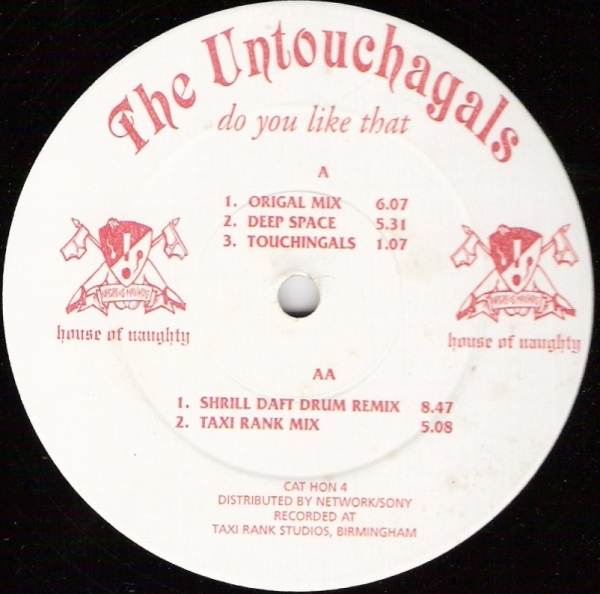 Untouchagals, The - Do You Like That