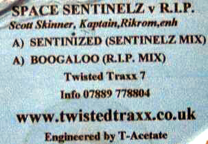 Space Sentinelz / R.I.P. - Sentinized / Boogaloo
