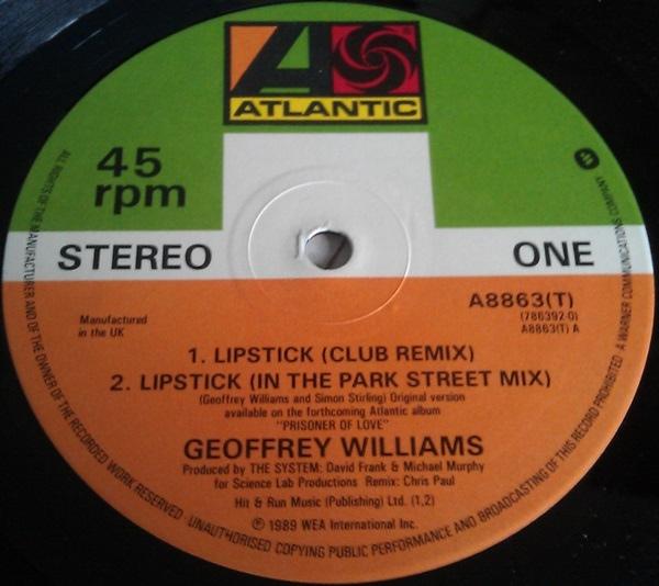 Geoffrey Williams - Lipstick