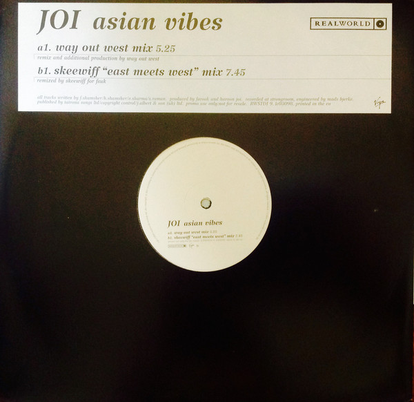 JOI - Asian Vibes - 12 inch x 1
