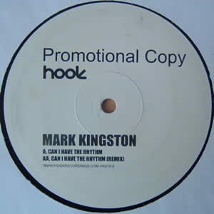 MARK KINGSTON - CAN I HAVE THE RHYTHM