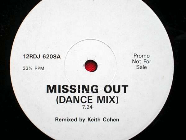 KEITH COHEN - Missing Out