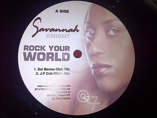 SAVANNAH KNIGHT - Rock Your World
