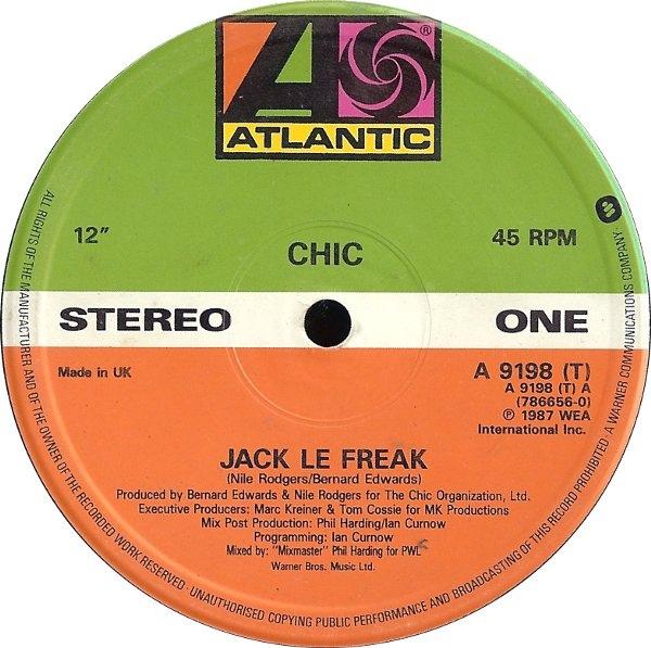 Chic - Jack Le Freak