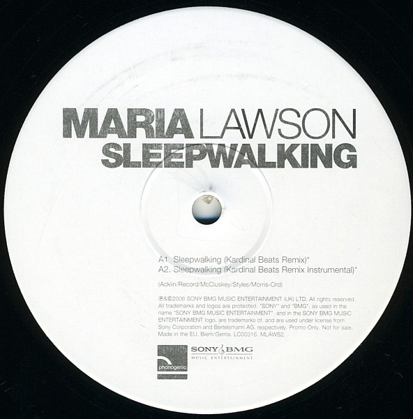 Maria Lawson - Sleepwalking