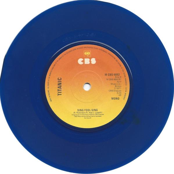 TITANIC - Sing Fool Sing - 45T x 1