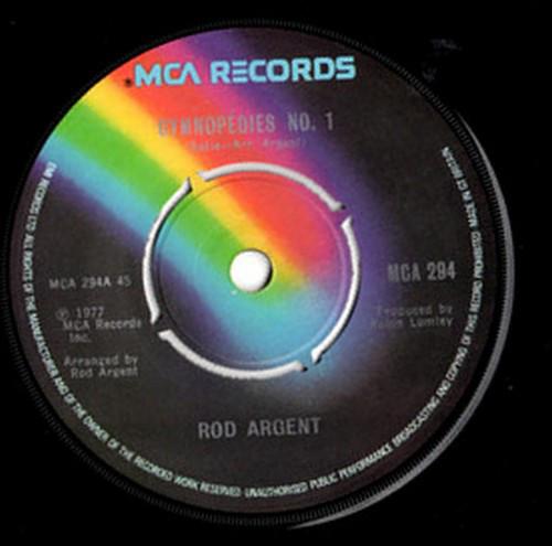 Rod Argent - Gymnop?dies No. 1 / Light Fantastic