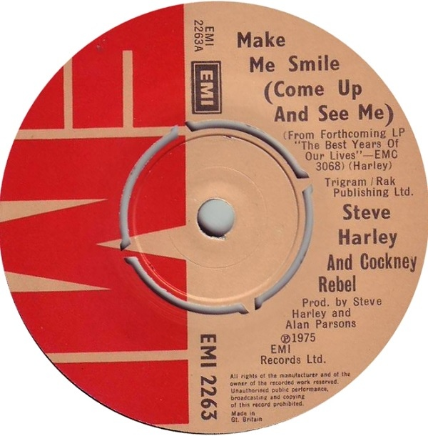 Steve Harley And Cockney Rebel - Make Me Smile (Come Up And See Me)