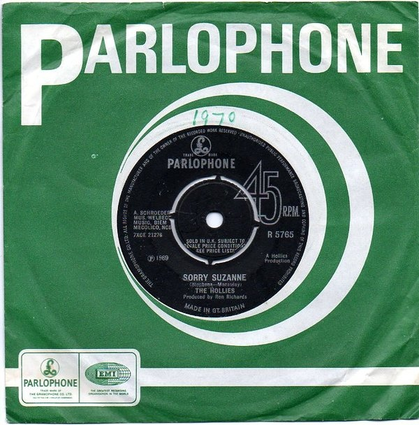 Hollies, The - Sorry Suzanne