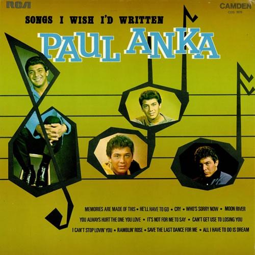 Paul Anka - Songs I Wish I Had Written