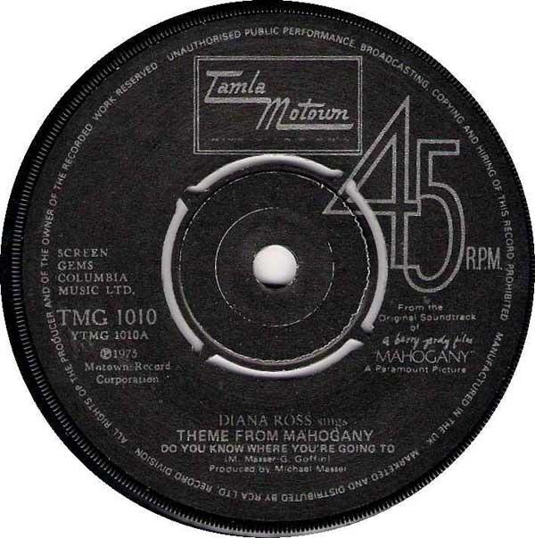 Diana Ross - Theme From Mahogany