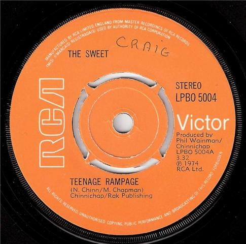 Sweet, The - Teenage Rampage