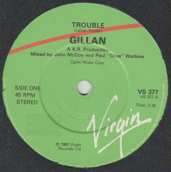 Gillan - Trouble