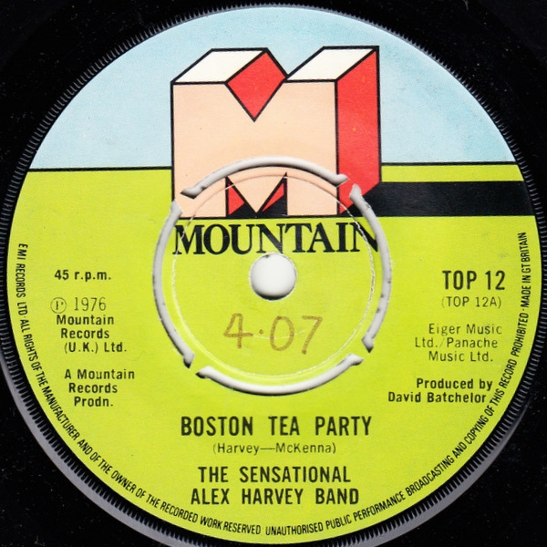 Sensational Alex Harvey Band, The - Boston Tea Party