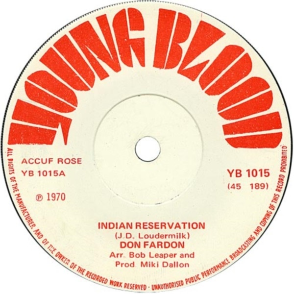 Don Fardon - Indian Reservation / Hudson Bay