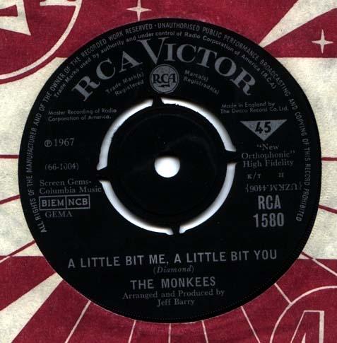 Monkees - A Little Bit Me, A Little Bit You