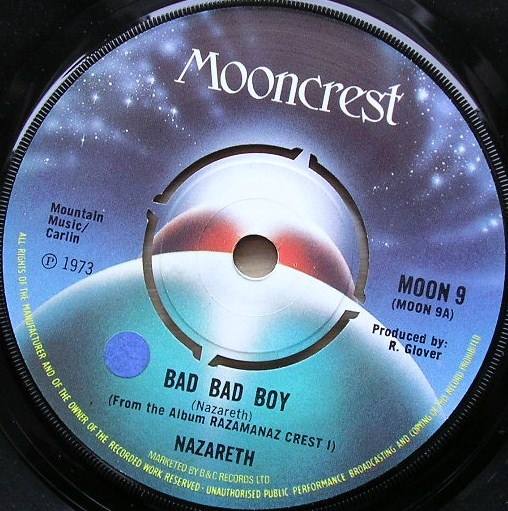 Nazareth - Bad Bad Boy