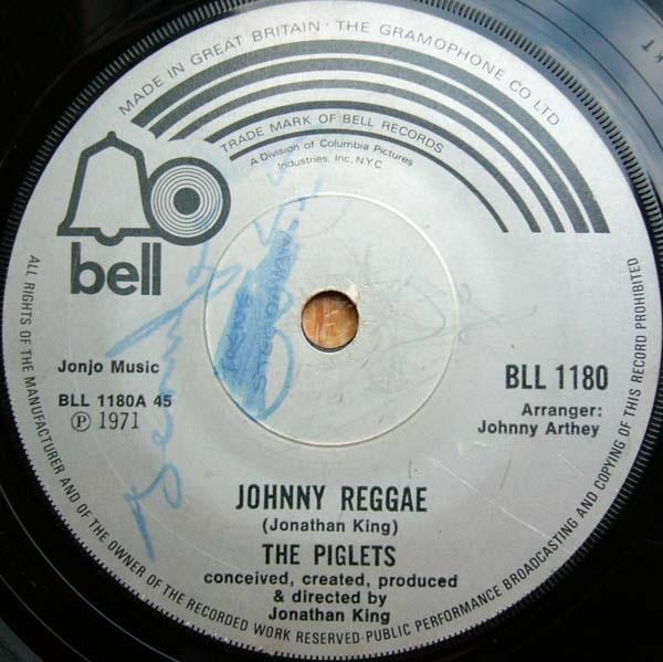 Piglets, The - Johnny Reggae