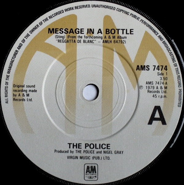 Police, The - Message In A Bottle
