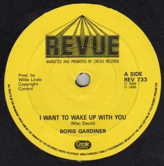Boris Gardner - I Wanna Wake Up With You