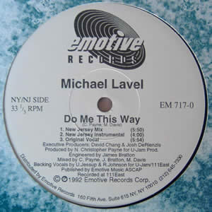 MICHAEL LAVEL - DO ME THIS WAY