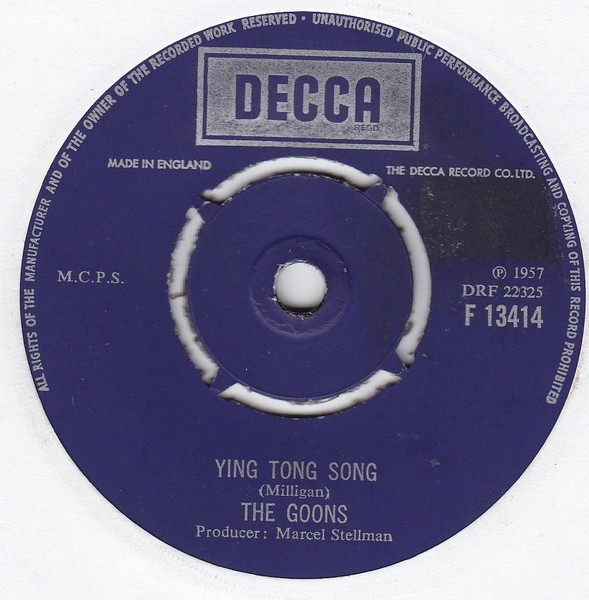 Goons, The - Ying Tong Song