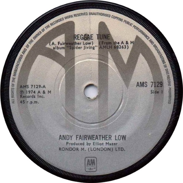 Andy Fairweather Low - Reggae Tune