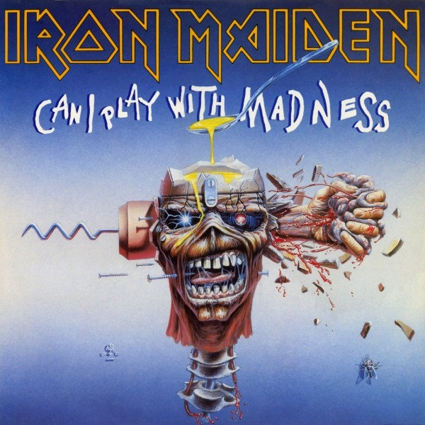 Iron Maiden - Can I Play With Madness Record