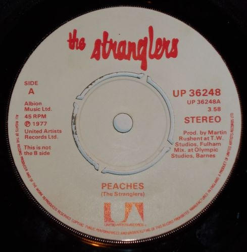 Stranglers, The - Peaches / Go Buddy Go