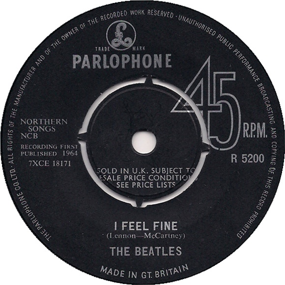 Beatles, The - I Feel Fine (1st Press)