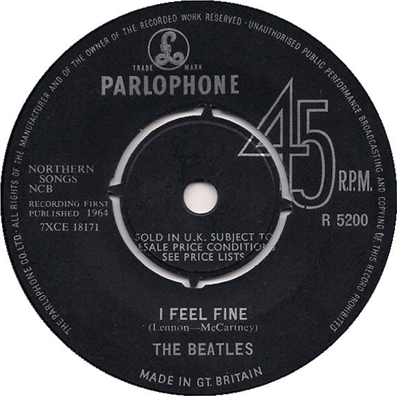 Beatles, The - I Feel Fine (1st Press)