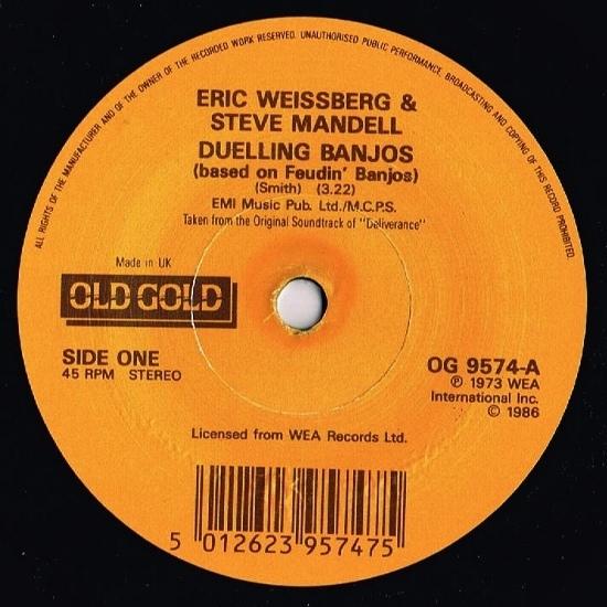 Eric Weissberg & Steve Mandell - Duelling Banjos