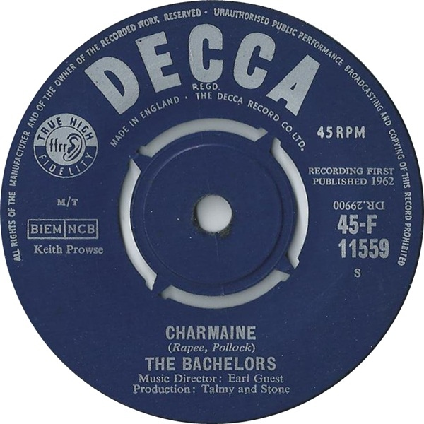 Bachelors, The - Charmaine